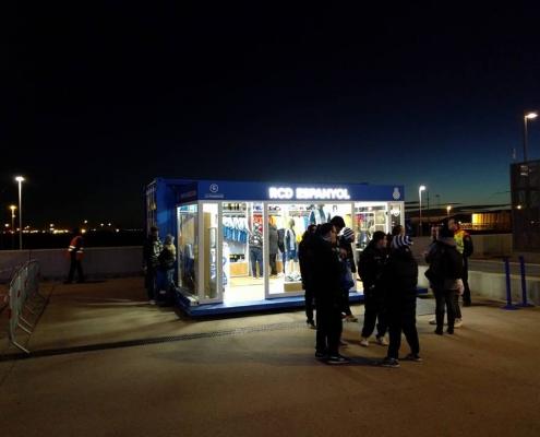 Proyecto del espacio móvil del Real Club Deportivo Español